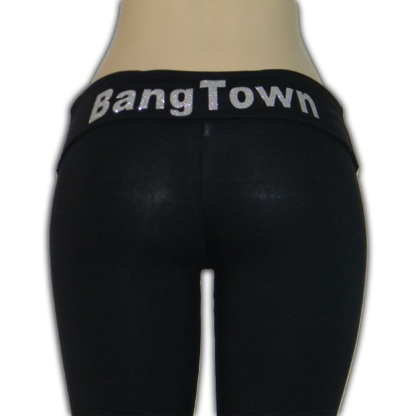 Yoga Pants (Silver) - Bottoms - Women